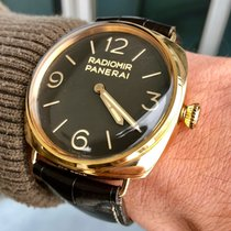 Panerai Rose gold Automatic 47mm pre-owned Special Editions
