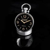Panerai Table Clock Acero 65mm Negro