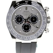 Rolex Daytona Or blanc 40mm Argent Sans chiffres Belgique, Antwerp