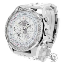 Breitling Bentley B05 Unitime Acero 49mm Blanco