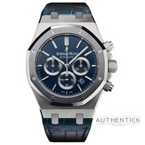 Audemars Piguet Royal Oak Chronograph Platinum 41mm Blue United States of America, Pennsylvania, Richboro