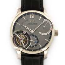 Greubel Forsey White gold 43.5mm Manual winding GF01PTCN pre-owned