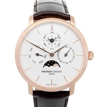 Frederique Constant Manufacture Slimline Perpetual Calendar FC-775V4S4 Nowy 42mm Automatyczny