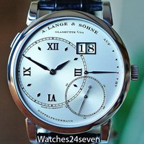 A. Lange & Söhne Grand Lange 1 Silver Roman numerals United States of America, Missouri, Chesterfield