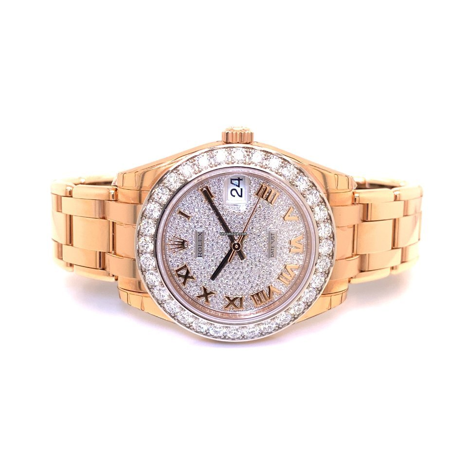 Rolex Pearlmaster 81285 2017 new