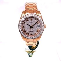 Rolex Rose gold Automatic 34mm new Pearlmaster