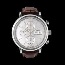 IWC Portofino Chronograph Steel 42.00mm Silver United States of America, California, San Mateo