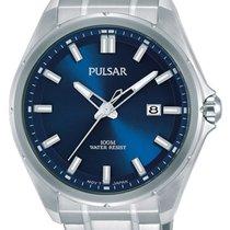 Pulsar Steel 44mm Quartz PS9549X1 new