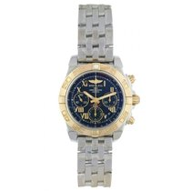 Breitling Chronomat 41 Gold/Steel 41mm Black Roman numerals United States of America, New York, New York