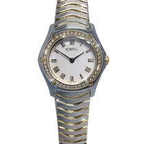 Ebel Classic Gold/Steel 27mm Mother of pearl No numerals
