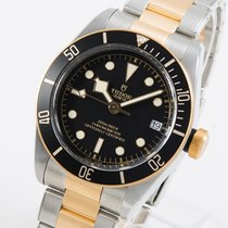 Tudor Black Bay S&G Gold/Steel 41mm Black