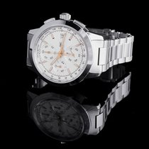 IWC Ingenieur Chronograph Steel 42.3mm Silver United States of America, California, San Mateo