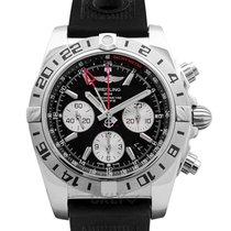 Breitling Chronomat 44 GMT neu Uhr mit Original-Box und Original-Papieren AB0420B9/BB56/200S