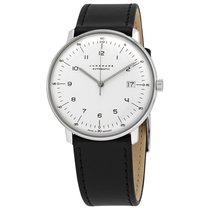 Junghans max bill Automatic 027/4700.04 JUNGHANS MAX BILL AUTOMATIC bianco data 2020 neu