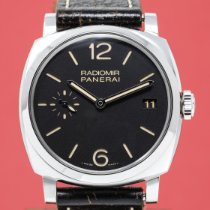 Panerai Radiomir 1940 3 Days Steel 47mm Black No numerals