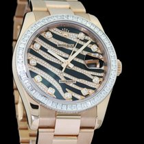 Rolex Datejust 116285BBR Very good Rose gold 36mm Automatic