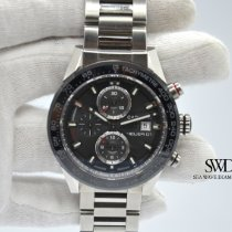 TAG Heuer Carrera Calibre HEUER 01 Steel 43mm Grey No numerals United States of America, New York, New York