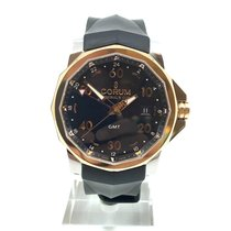 Corum Admiral's Cup GMT 44 Acero 44mm Negro