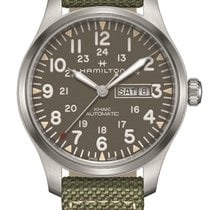 Hamilton Khaki Field Day Date Steel 42mm United States of America, New Jersey, Cherry Hill