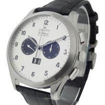 Zenith El Primero Chronograph Steel 44mm Silver Arabic numerals United States of America, California, Newport Beach