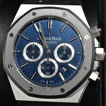 Audemars Piguet Royal Oak Chronograph Platina 41mm Albastru Fara cifre