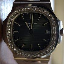 Patek Philippe Patek Philippe 5713/1g wg Nautilus Diamonds bezel White gold Nautilus 36mm new United States of America, New York, NEW YORK CITY