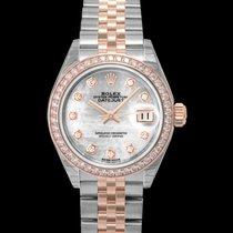 Rolex Lady-Datejust nuovo Automatico Orologio con scatola e documenti originali 279381RBR