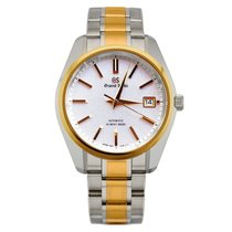 Seiko Grand Seiko Gold/Steel 40mm White