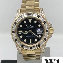 Rolex 116758 SANR Zuto zlato 2007 GMT-Master II 40mm rabljen