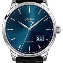 Glashütte Original Senator Excellence Acier 40mm Bleu