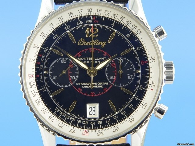 Breitling Montbrillant A48330 2005 pre-owned