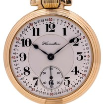 Hamilton 52mm Manual winding Railroad pre-owned United States of America, California, West Hollywood