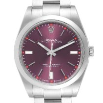 Rolex Oyster Perpetual 39 pre-owned 39mm Red Steel