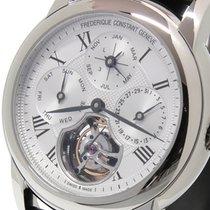 Frederique Constant Manufacture Tourbillon Steel 42mm Silver Roman numerals