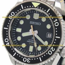 Seiko Prospex SLA021J1 Seiko Prospex Sea Subacqueo Acciaio Nero 44,3mm 2020 new