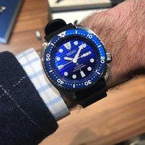 Seiko (セイコー) Prospex SRPC91K1 Seiko Prospex Sea Subacqueo Acciaio Blu Gomma 45mm 2020 新品
