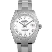 Rolex 178344WRO Or blanc Lady-Datejust 31.00mm nouveau