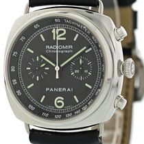 Panerai Radiomir Chronograph pre-owned 45mm Black Calf skin