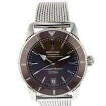 Breitling Superocean Heritage II 42 occasion 42mm Bronze Chronographe Date Acier