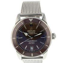 Breitling Superocean Héritage II 42 occasion 42mm Bronze Chronographe Date Acier