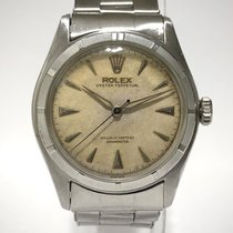 Rolex Bubble Back Acero 34mm