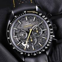 Omega Speedmaster Professional Moonwatch Cerámica 44,25mm Negro Sin cifras
