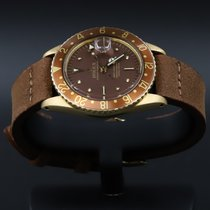 Rolex GMT-Master 1675 Good Yellow gold 40mm Automatic