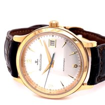 Jaeger-LeCoultre pre-owned Automatic 37mm Silver Sapphire crystal 5 ATM