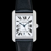 Cartier Tank Solo Steel 41mm Silver United States of America, California, San Mateo
