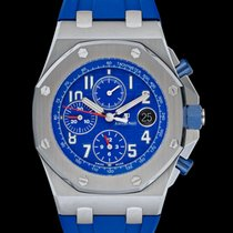 Audemars Piguet Royal Oak Offshore Chronograph Steel 42mm Blue United States of America, California, San Mateo