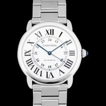 Cartier Steel Automatic Silver 42mm new Ronde Solo de Cartier