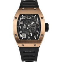 Richard Mille RM 010 Rose gold 48mm Transparent Arabic numerals