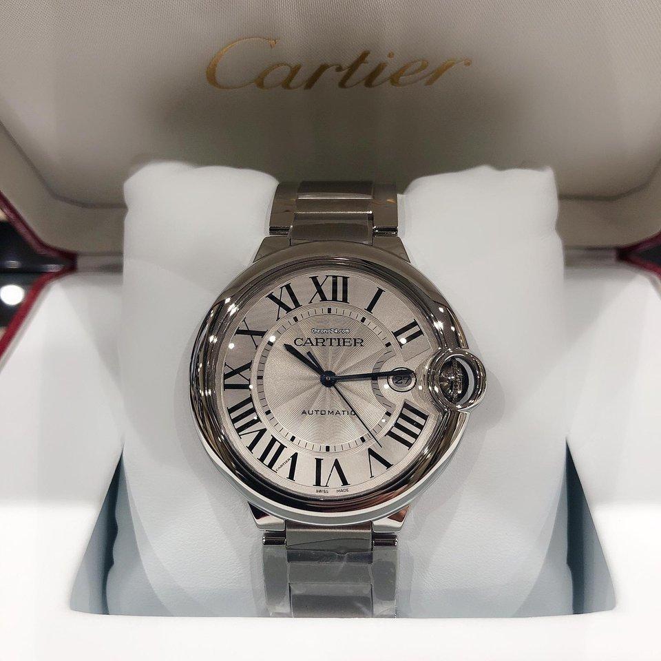 Cartier Ballon Bleu 42mm W69012Z4 2019 new