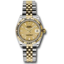 Rolex Lady-Datejust Gold/Steel 31mm Champagne United States of America, Pennsylvania, Holland